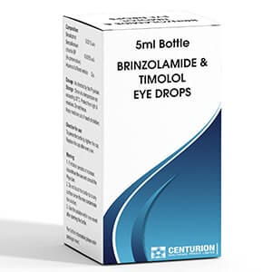 Brinozolamide & Timolol Eye Drops
