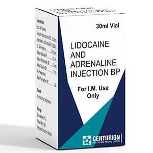 Lidocaine And Adrenaline Injection bp