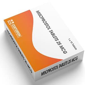 Misoprostol Tablets 25 MCG - Carton