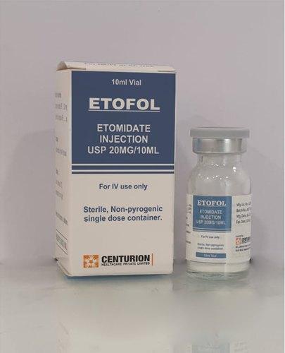 Etomidate Injection 20mg / 10 ml
