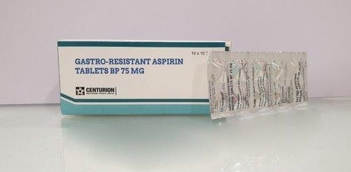 Aspirin Tablets Bp 75 Mg