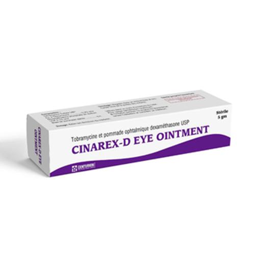 Cinarex D Eye Ointment