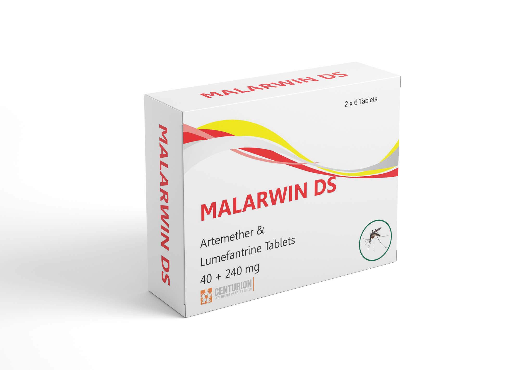 Artemether Lumefantrine Tablets 40 240 mg