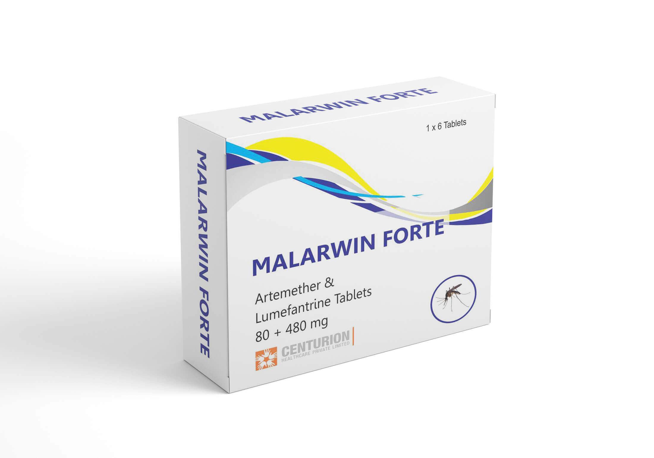 Artemether Lumefantrine Tablets 80+480 mg