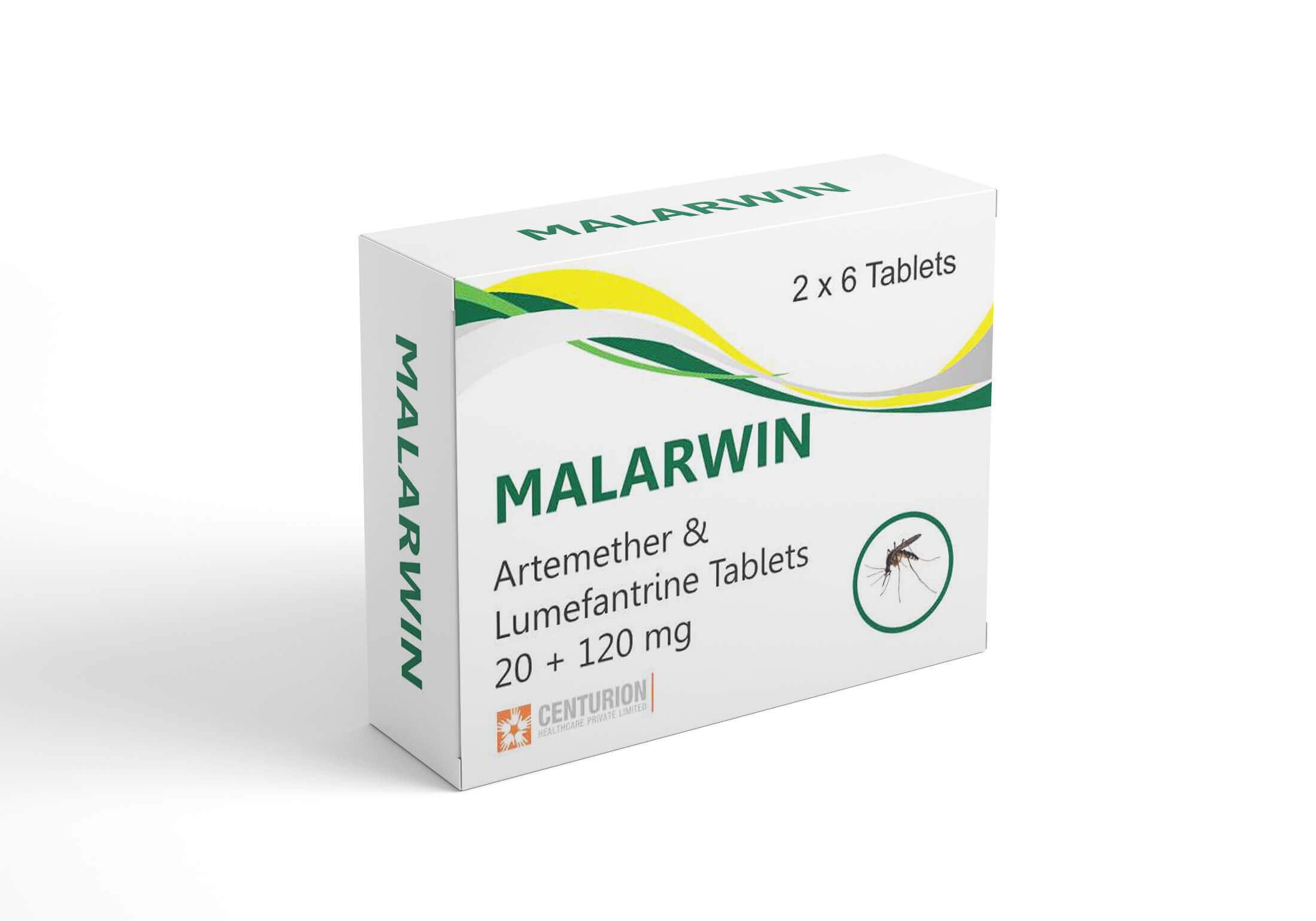 Artemether Lumefantrine Tablets 20 120 mg