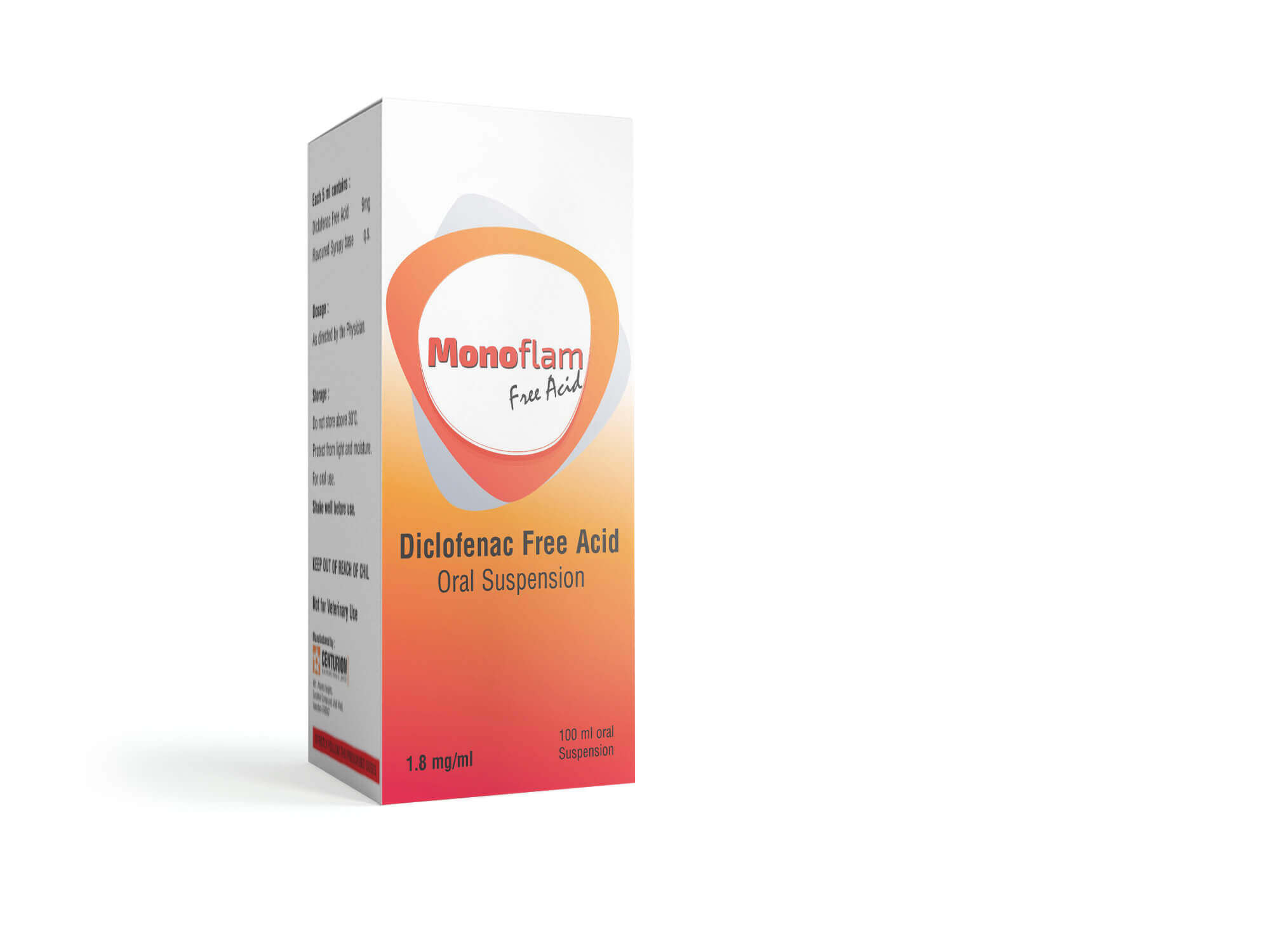 Diclofenac Free Acid Oral Solution